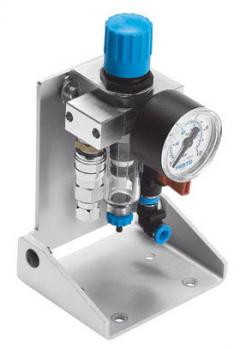 Start-up valve with filter control valve