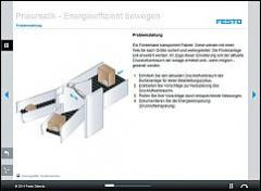 Tec2Screen® Course: Pneumatics – Energy-Efficient Movement