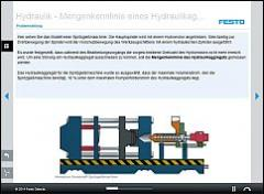 Tec2Screen® Course: Hydraulics – Quantity Curve for a Hydraulic Power Unit