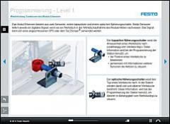 Tec2Screen® Course: MPS® Testing Station, Modules Detection and Lifting – Logic Programming