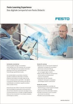 Festo Learning Experience - The Digital Learning Portal by Festo Didactic