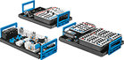 Supplementary equipment set to upgrade from Pneumatics, Basic level TP 101 America to Electropneumatics, Basic level TP 201 America