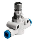 One-way flow control valve