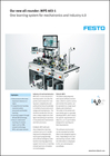Our new all-rounder: MPS 403-1. One learning system for mechatronics and Industry 4.0