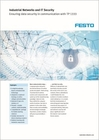 Industrial Networks and IT Security - Ensuring data security in communication with TP 1333