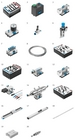 Equipment set TP 111: Basic closed-loop pneumatics training