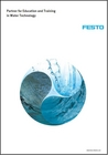 Brochure Partner for Education and Training in Water Technology