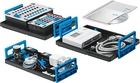 Equipment set TP 210 – Advanced level: Measurement and control in pneumatics with FluidLab®-P