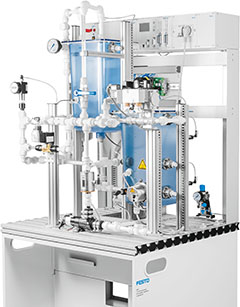 MPS® PA Compact Workstation with level, flow rate, pressure and temperature controlled systems