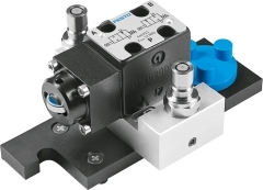 2/2-way stem actuated valve, convertible