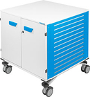 Frameline, mobile container for motor test bench