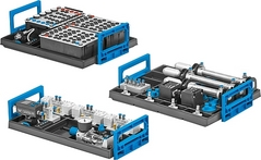 Equipment set TP 201 – Basic level: Basic electropneumatics training