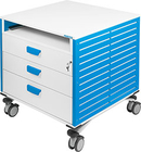 Frameline mobile container with pull-outs for pneumatics TPs