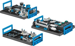 Equipment set TP 101 – Basic level: Basic pneumatics training