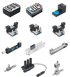 Supplementary equipment set from Hydraulics, Basic level TP 501 to Electrohydraulics, Basic level TP 601