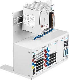 EduTrainer® Universal preferred versions Laboratory: A4/A4 rack with Allen-Bradley CompactLogix and 19