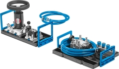 Equipment set TP 802 – Advanced level: Mobile hydraulics – Hydrostatic steering system