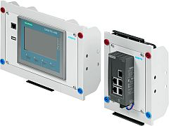 Touch Panel KTP400 EduTrainer Compact + Ethernet Switch XB005 EduTrainer Compact