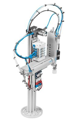 pick place module mps acirc reg modules mps acirc reg the modular production the pick place module is a universal 2 axis handling device for pick place tasks the position of the end position switches as well as mounting position