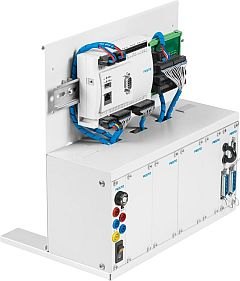 EduTrainer® Universal preferred versions MPS®: A4 rack with Festo CECC-LK CODESYS® V3.5