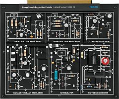 Circuit Board 91009: Power Supply Regulation Circuits