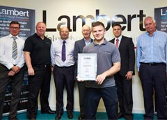 Lambert Engineering - Apprentice of the year Award