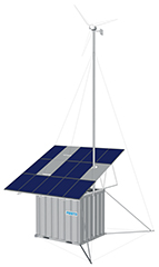 EDS® Energy Cube – Outdoor system for renewable energy